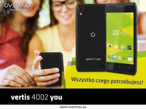 Overmax Vertis 4002 You