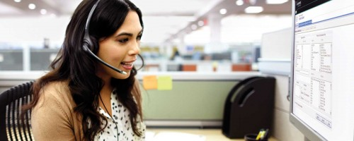 Avaya i Plantronics - contact centre