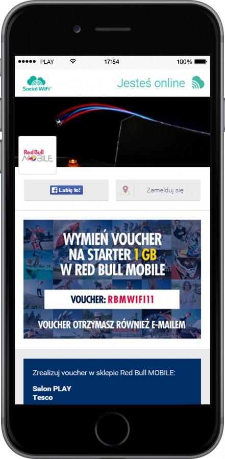 Integer.pl i Social WiFi z cross-promocją dla Red Bull MOBILE