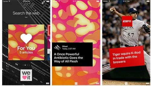 Opera Coast z trybem Snapchat