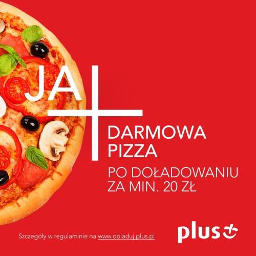 Pizza gratis za doładowanie w internecie