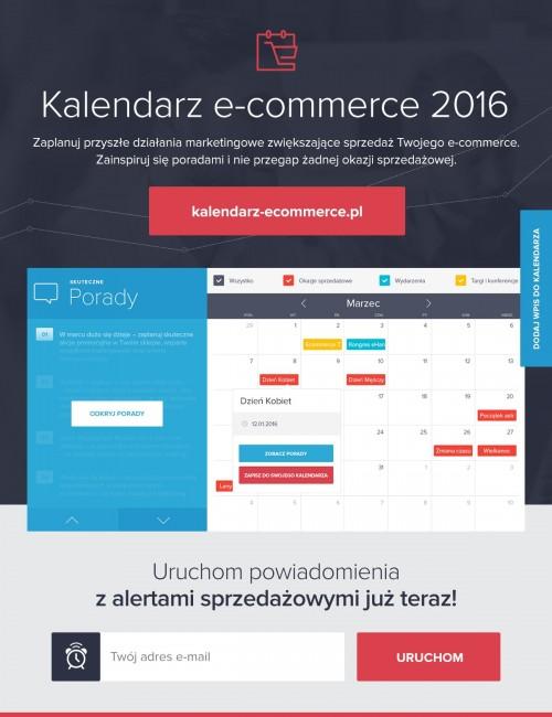Kalendarz e-commerce 2016