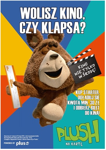 Plush - przygarnij bilet do Cinema City
