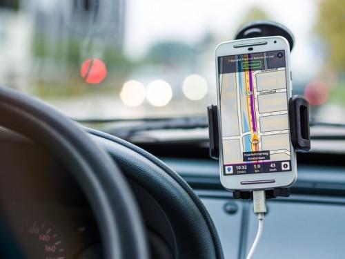 Uber - nawigacja