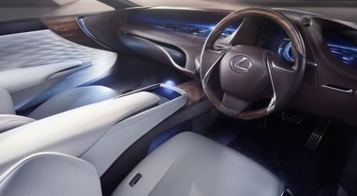 Wnętrze Lexusa LF-FC