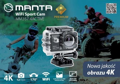 Manta 4K WiFi 4ACTIVE MM357