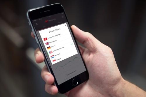 Opera z VPN na iOS