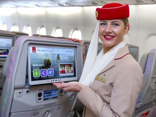 Linie Emirates - sport