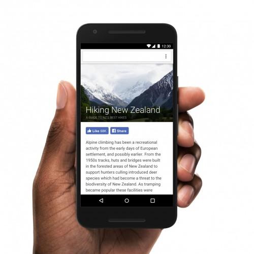 Facebook - nowe przyciski
