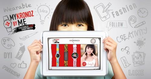 MyKronoz: zaprojektuj smartwatcha