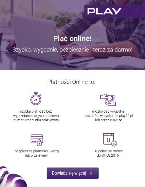 Play - płatności online
