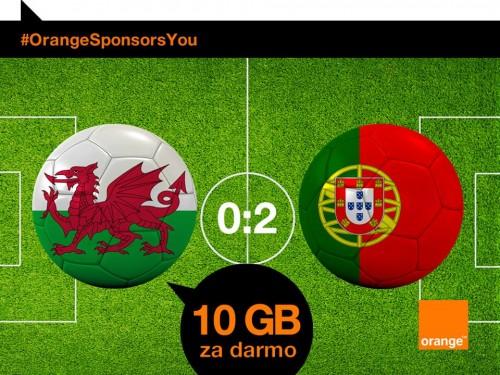 Orange - 10 GB za zwyci?stwo Portugali