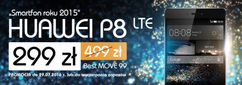 FM Group - Huawei P8 LTE w taryfie Best MOVE 99