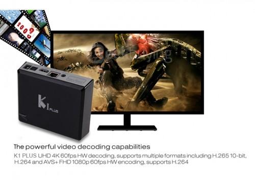 K1 PLUS TV box