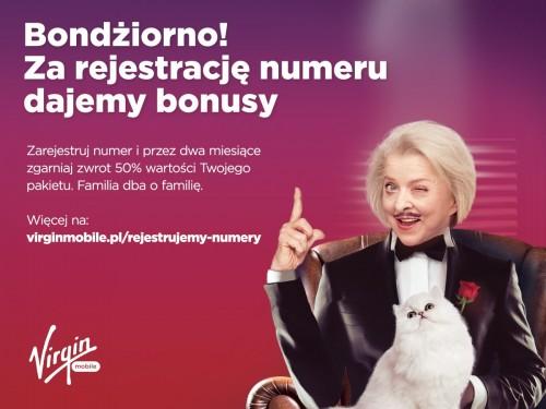 Virgin Mobile: rejestracja kart