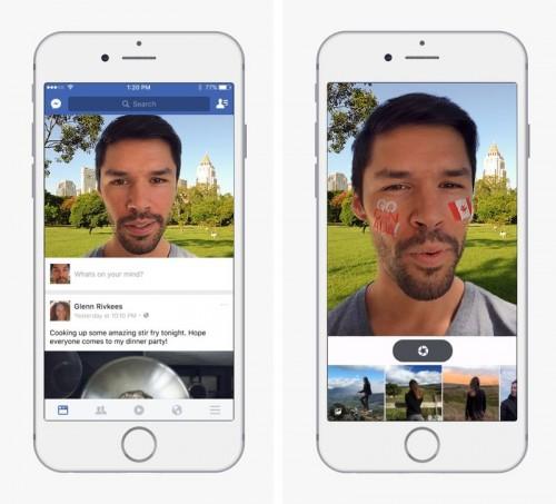 facebook filtry