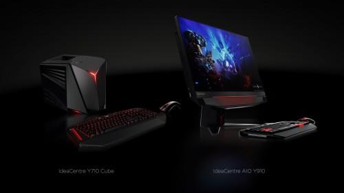 Lenovo ideacentre Y710 Cube oraz ideacentre AIO Y910