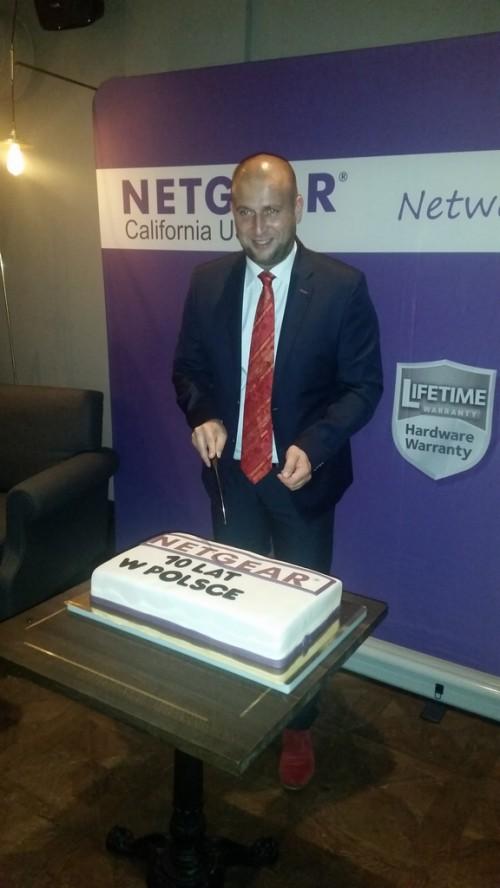 10 lat marki NETGEAR w Polsce