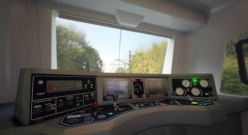 Symulator lokomotywy VR