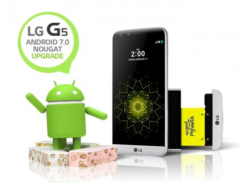 LG G5 z Android 7.0