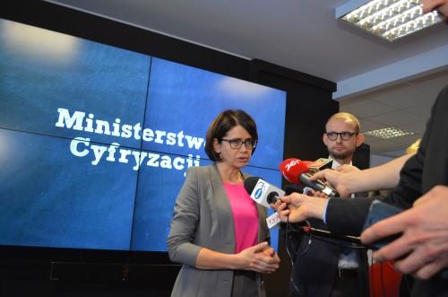 Spotkanie minister Anny Streżyńskiej z przedstawicielami Facebooka