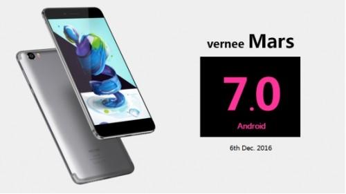 Vernee Mars - Android 7.0