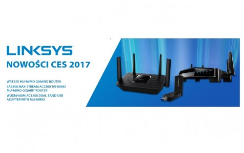 Linksys na CES 2017