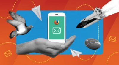 Firefox na iOS - e-mail