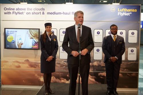 Lufthansa i Austrian Airlines online