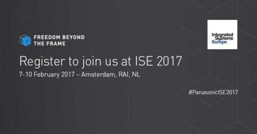 Panasonic na ISE 2017