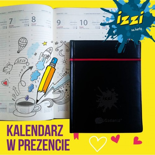 Izzi - kalendarze na 2017