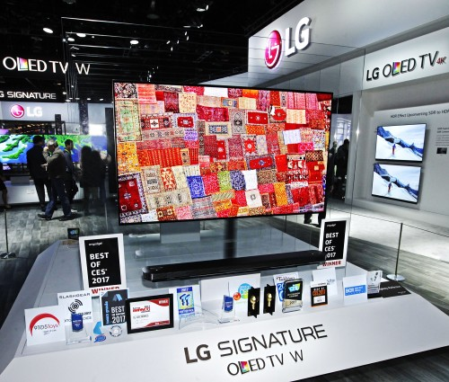 LG na CES 2017