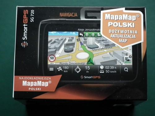 Smartgps Sg720 Ostrzeze Przed Fotoradarami I Doprowadzi Do Celu