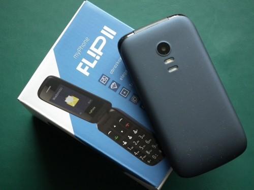 b015f6666a54d myPhone FLIP powstał z myślą o osobach poszukujących nieskomplikowanych i  intuicyjnych urządzeń zamkniętych w estetycznej obudowie. To prosty telefon  w ...