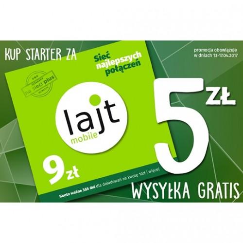 Starter lajt mobile - 5,00 zł