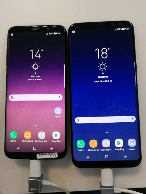 Samsung Galaxy S8 - galeria