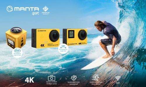 Manta - kamerki 4K