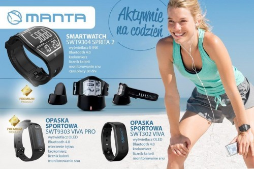 Manta smartwatch i smartbandy