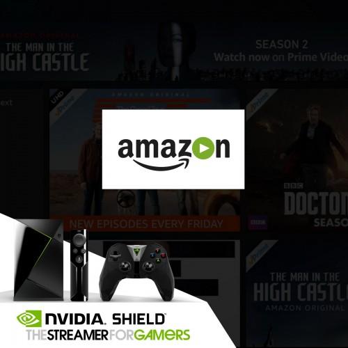 Amazon Video na Nvidia Shield