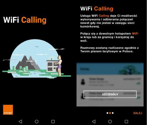 Orange WiFi Calling – grafiki