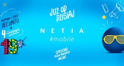 Netia - hashtagowa