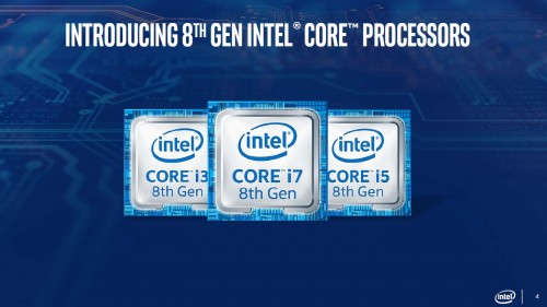 Intel - procesory mobilne 8 gen
