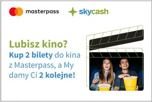 SkyCash - 2 darmowe bilety do Multikina