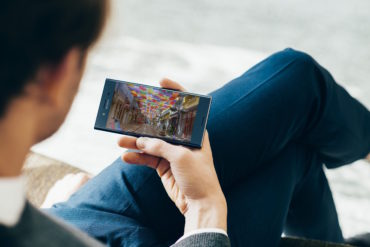 Xperia XZ Premium z Netflix