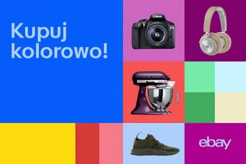 eBay w Polsce: Kupuj kolorowo