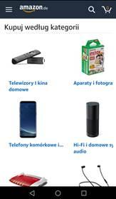 mobilny amazon ju po polsku na android portal telekomunikacyjny. Black Bedroom Furniture Sets. Home Design Ideas