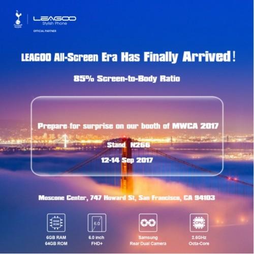 Leagoo - 6 calowy smartfon z 6 GB RAM