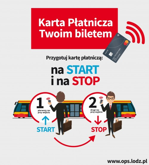 Łódź - bilet komunikacji