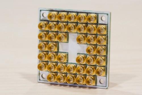 17-kubitowy nadprzewodnikowy układ testowy