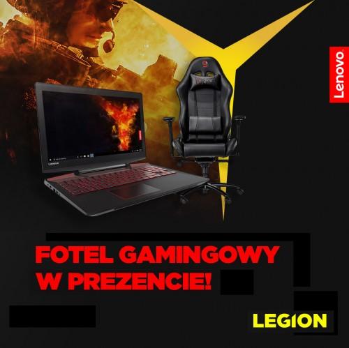 Legion Y720 z fotelem dla gracza